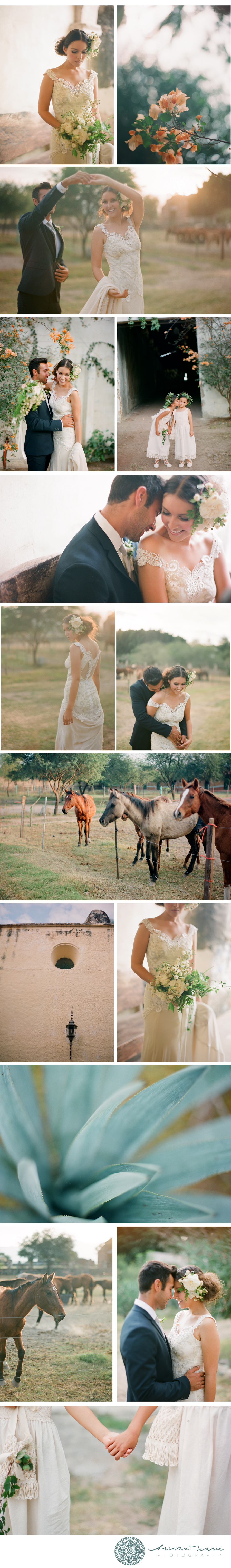 Mexico Fine Art Film Wedding Photography
